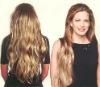 SO HOT 100% Virgin Mongolian hair 3/4 wig bandfall wig
