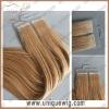 Seamless pre tape hair extension