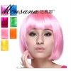 Short Bob synthetic party wig for fashion ladies