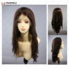 Silky Straight Virgin Remy Indian Human Hair Wig