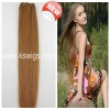 Silky straight indian hair extension with low price