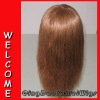 Silky straight wave Indian Virgin human hair lace wig