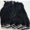 Soft Virgin indian hair weaving natural straight hair all length in stock
