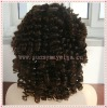 Sprial Curl Style AAA+ Grade Indian Remy Hair Full Lace Wigs