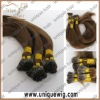 Stick keratin bonded hair extension