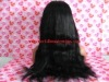 Stock Brazilian human hair 20'' full lace wig
