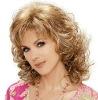 Stylish European Brazilian Remy Virgin Human Hair Jerry Curl Long Blonde Layered Wigs- Jamie