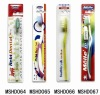 Super Market packing toothbrushes