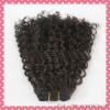 Super quality deep curl virgin Human hair extension