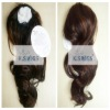 Synthetic long wigs