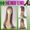 Synthetic long wigs light brown daily wigs for women