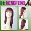 Synthetic long wigs red daily wigs for women