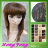 Synthetic medium lace wigs fashion brown hair wigs