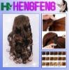 Synthetic natural fashion brown drawstring ponytail