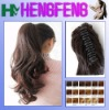 Synthetic ponytail clip extension hairpieces long regular