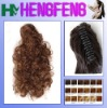 Synthetic ponytail clip fashion curly extension pieces