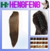 Synthetic ponytail clip light brown stright hairpieces