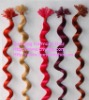 THE 100% remy hair extensions