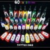 Tattoo Inks Pigment Complete set of *40 Color* 1/2 oz