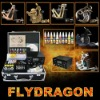 Top 6 Tattoo Machine Guns Tattoo Guns Kits 10 colours Immortal Ink