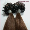 Top Quality Hair 100% human hair Pre-bonded hair extension Micro beads
