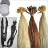 Top Quality Remy human hair Keratin bonded hair extension