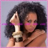 Top Selling Kinky curl Indian Remy Full Lace Wigs