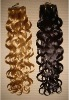 Top grade Natural Virgin Curly Wave Indian hair extension