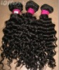 Top quality 14'' 1# deep wave 100% Brazilian hair weft accept paypal