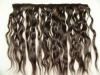 "Top quality 18"" body wave Indian virgin human hair weft"