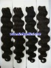 Top quality 20' 1b# deep wave 100% Indian human hair,accept paypal