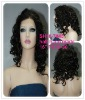 Top quality 20 inch machine wig natural wave in color FS1B-30