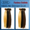 Top quality Indian pre-tipped human hair extension remy hair