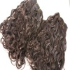 Top quality human hair weft indian remy human hair extension wholesale price