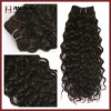 Top quality super wave hair weaving/ hair weft