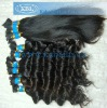 Turly Brazilian hair bulk,remy bulk hair natural soft