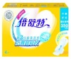 Ultra-long soft and breathable disposable super absorbent blue diffusion layer sanitary napkin