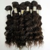 Virgin cambodian hair weft 100% human hair