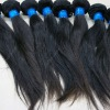Virgin hair machine weft indian/brazilian/malaysian hair