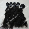 Virgin hair weaving non processed easy to dyed color