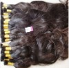 Virgin indian temple hair human hair weft