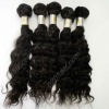 Virgin peruvian hair weave natural human hair