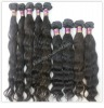 Virgin remy grade AAA natural color brazilian human hair weave,100% human hair