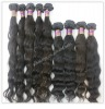 Virgin remy grade AAA natural color brazilian human hair weave,100% human hair can dye any color