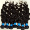 Virgin remy peruvian hair extension ,curly wave