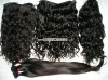 Virgin remy peruvian hair weft