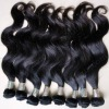 Virigin weaving peruvian hair great quality can be ironed