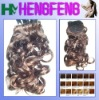 Water weave synthetic ponytail mixed color extension pieces