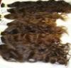Wavy brazilian hair weaving, top quality brazilian remy hair