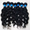 Wavy virgin brazilian hair with full cuticle and thick bottom